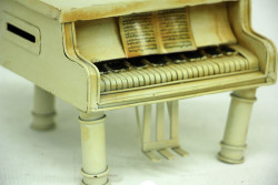 Mnk - Dekoratif Metal Piyano Kumbara (1)