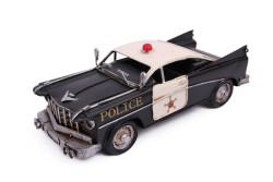 MNK - Dekoratif Metal Polis Arabası