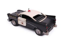 MNK - Dekoratif Metal Polis Arabası (1)