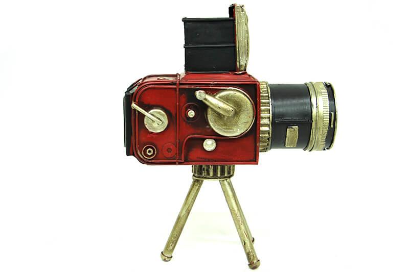 Dekoratif Metal Kamera