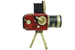 MNK - Dekoratif Metal Kamera