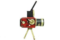 Dekoratif Metal Kamera - Thumbnail