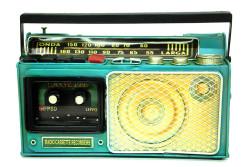 Mnk - Dekoratif Metal Radyo Kumbara