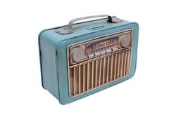 MNK - Dekoratif Metal Radyo Kumbaralı