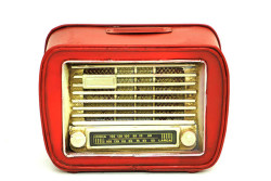 MNK - Dekoratif Metal Radyo