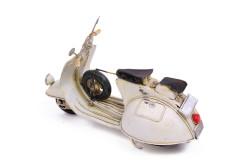 Dekoratif Metal Scooter - Thumbnail