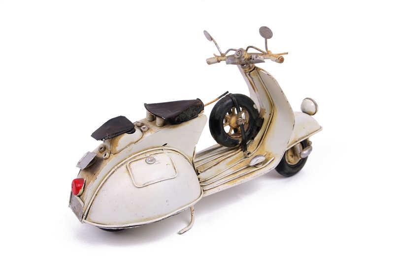 Dekoratif Metal Scooter
