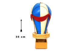 Mnk - Dekoratif Metal Sıcak Hava Balonu (1)