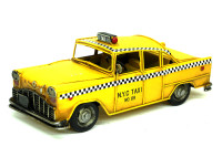 MNK - Dekoratif Metal Taksi