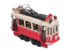 Mnk - Dekoratif Metal Taksim Tramvay Orta Boy (1)