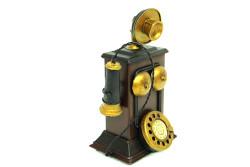 Mnk - Dekoratif Metal Telefon Kumbaralı (1)