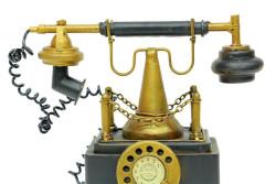 - Dekoratif Metal Telefon Kumbaralı (1)