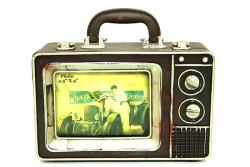 MNK - Dekoratif Metal Televizyon Bavul (1)