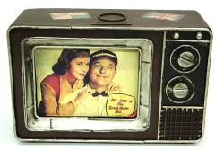 Mnk - Dekoratif Metal Televizyon Kumbara