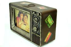 Mnk - Dekoratif Metal Televizyon Kumbara (1)