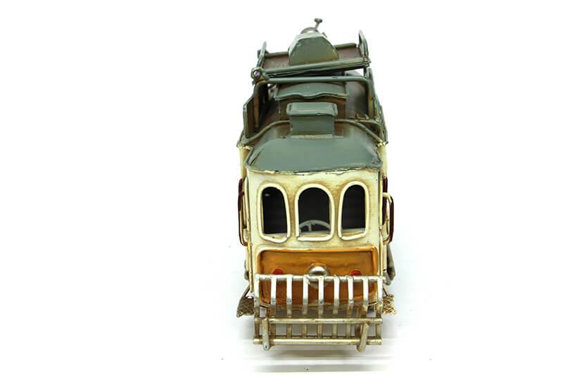Dekoratif Metal Tramvay Çerçeveli