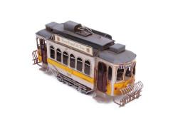 Mnk - Dekoratif Metal Tramvay (1)