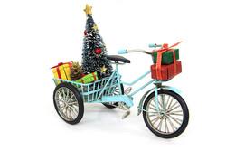 - Dekoratif Metal Üç Tekerlekli Bisiklet
