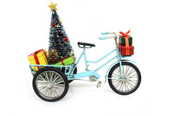 - Dekoratif Metal Üç Tekerlekli Bisiklet (1)