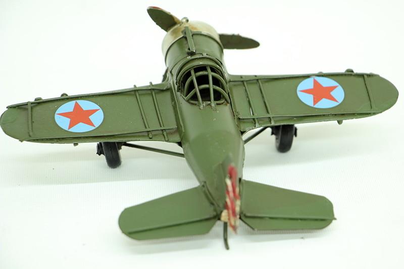 Dekoratif Metal Uçak
