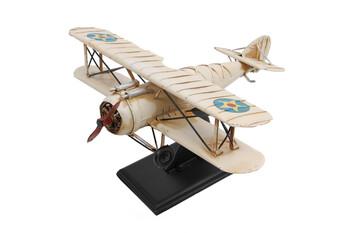 Dekoratif Metal Uçak 2 Kanatlı - Thumbnail