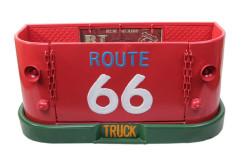 MNK - Dekoratif Route66 Temalı Ford Kamyon Kasası Şeklinde Duvar Rafı (1)