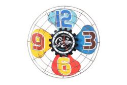MNK - Dekoratif Vantilatör Temalı Duvar Saati