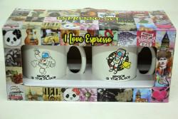 Just me - Espresso 2'li Kupa Seti Astronot (1)