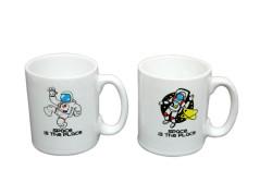 Just me - Espresso 2'li Kupa Seti Astronot