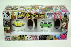 Just me - Espresso 2'li Kupa Seti Bettle (1)
