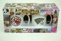 Just me - Espresso 2'li Kupa Seti Game Of Thrones (1)