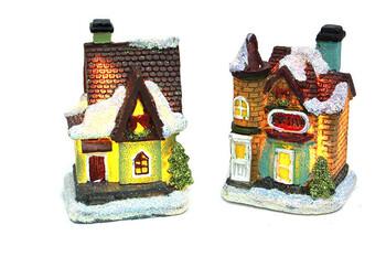 - Mini Ev Maketi Işıklı 12'li Paket (1)