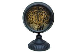 CROWNWELL - Masaüstü Siyah Çarklı Saat