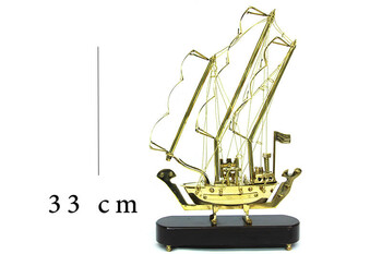 MNK - Ahşap Kaideli Yelkenli Gemi (1)