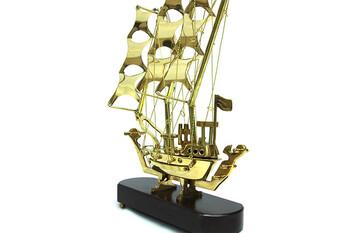 Gemi Yelken li Bronz - Thumbnail