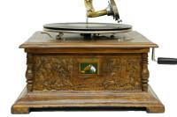 CROWNWELL - Gramofon Kare Full Oymalı 533 (1)