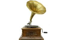 CROWNWELL - Gramofon Kare Oymalı 533