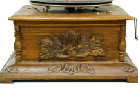 CROWNWELL - Gramofon Kare Oymalı 533 (1)