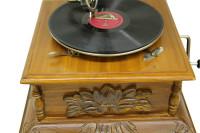 Gramofon Kare Oymalı 533 - Thumbnail
