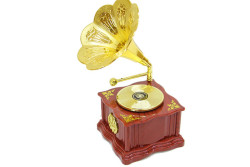 - Gramofon Mini Müzik Kutusu