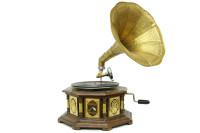 CROWNWELL - Gramofon Sekizgen Bronz Kakma 533 (1)