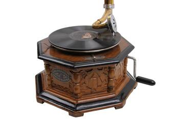 CROWNWELL - Gramofon Sekizgen Oymalı 533 (1)