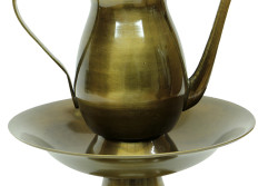 Crownwell - İbrik Sahanlı Antik Kabartmalı (1)