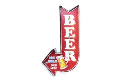 MNK - Işıklı Beer Yön Tabelası