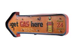 MNK - Işıklı Gas Here Yön Tabelası (1)