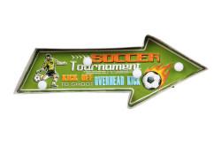 MNK - Işıklı Soccer Yön Tabelası