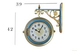 Antiq Design - Ferforjeli İstasyon Duvar Saati (1)