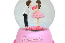 Self Design - Kar Küresi Romantic Love Motorlu Müzikli 100cc (1)