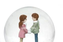 Kar Küresi Sevgili Işıklı - Thumbnail