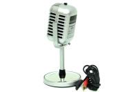 MNK - Karaoke Mikrofon Silver (1)